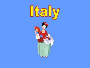 Italian Opera Singer in Costume