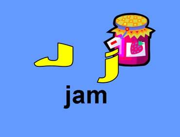 J j - Jam