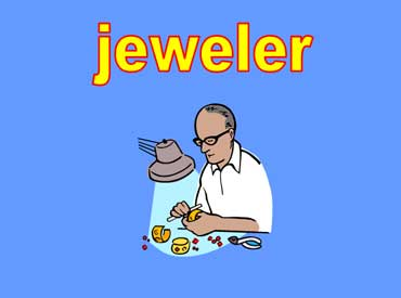 Jeweler Making Jewelry