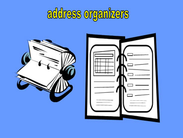 Address Organizers
