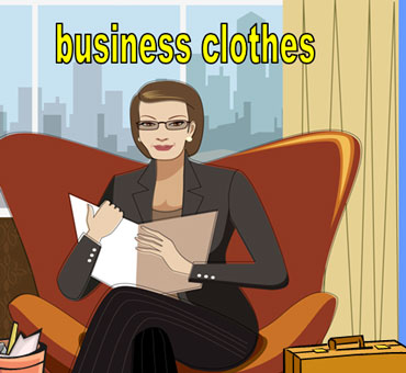 Woman Wearing Business Clothes