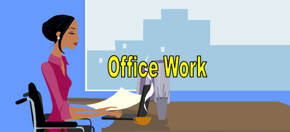 ESL Lesson - Office Work and Workers