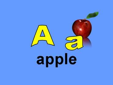 A a - Apple