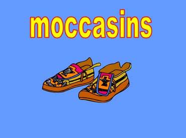 Moccasins - Deerskin