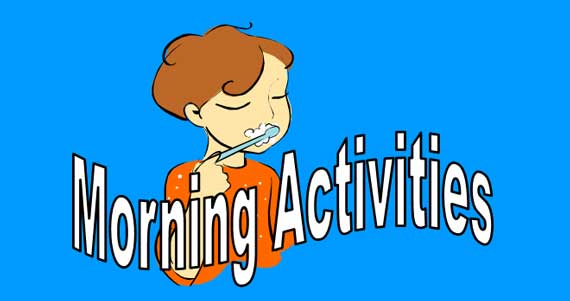 Morning Activities Lesson Banner