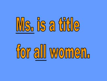 Ms. or Ms