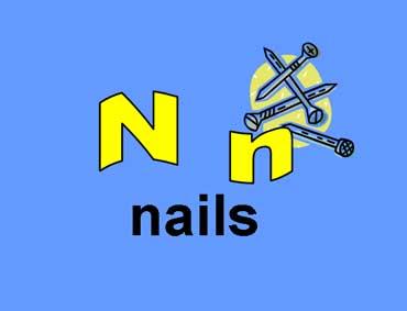 N n - Nails