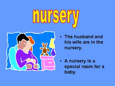 Husband and Pregnant Wife in a Nursery