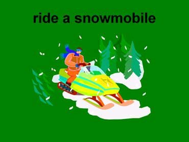 Ride Snowmobile