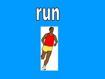 ◄اللغة الانجليزية...... Common Activities Lesson.► Run