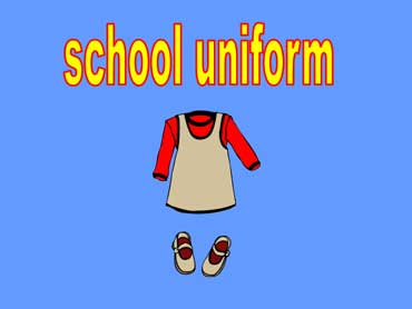 School Uniform for a Girl