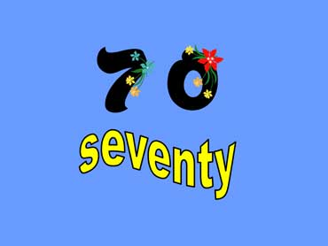 70 - seventy