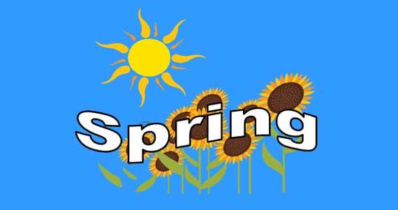 Spring Lesson Banner