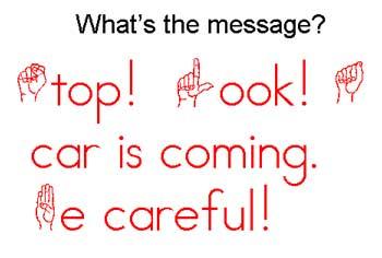 Stop!  Look!