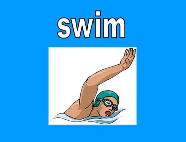 ◄اللغة الانجليزية...... Common Activities Lesson.► Swim