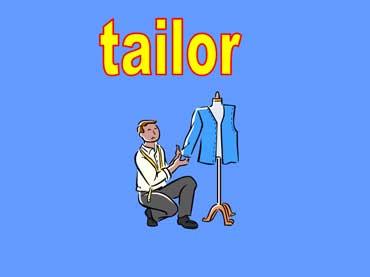 Tailor Making a Suit Jacket