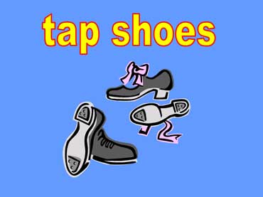 Tap Shoes with Cleats