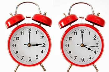 Alarm Clocks - 3:00 and 4:00