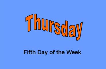 Thursday - Fifth