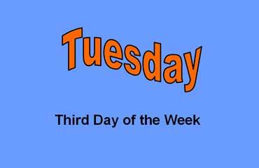 Tuesday - Third