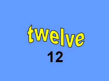12 - twelve
