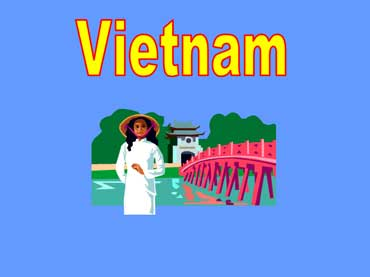 Vietnamese Woman Wearing a White Cotton Dress and Straw Hat