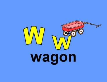 W w - Wagon