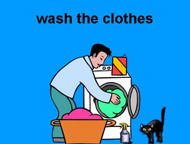 Wash the Clothes