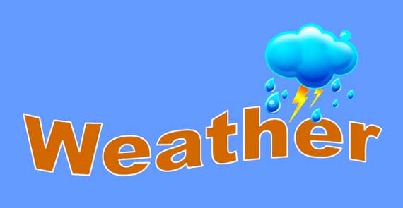 weather lesson banner
