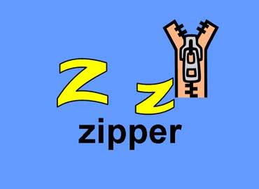 Z z - Zipper