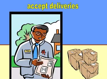Accept Deliveries