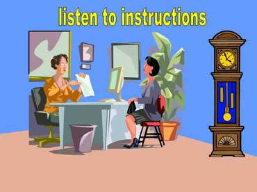 Listen to Instructions