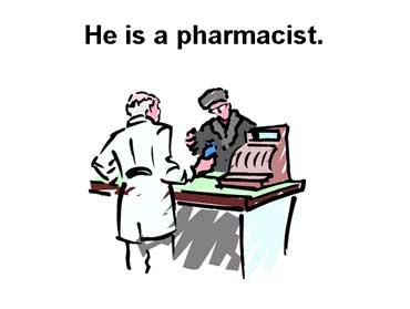 Pharmacist Helping a Customer in a Drugstore