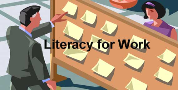 Literacy for Work Banner