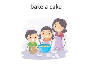 Bake Mom a Cake