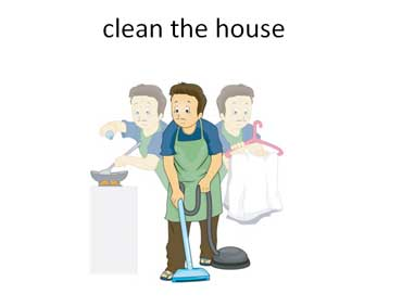 Clean House for Mom