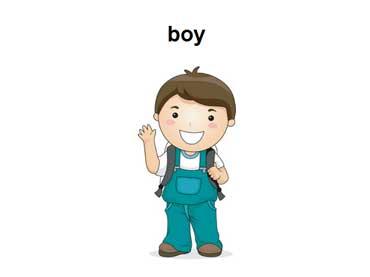 Boy Waving Hello