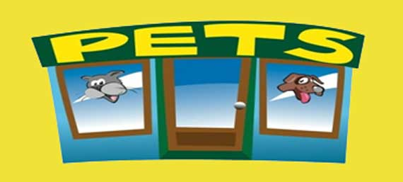 Pets Lesson Banner Shows Pet Shop