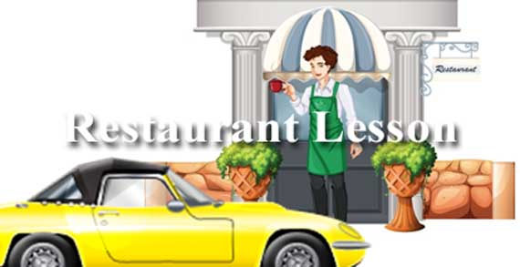 ESL Lesson Restaurants