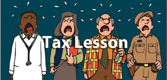 Taxes Lesson