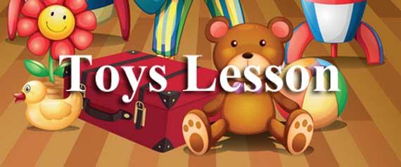 Toys Lesson