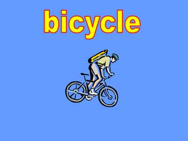 Bicycle Rider Riding a Bike