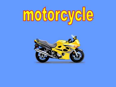New Yellow and Black Motorcycle