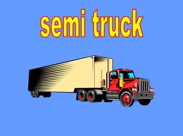 Semi with 18 Wheels
