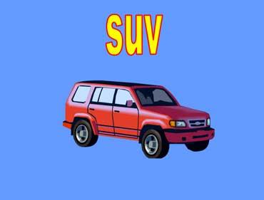 SUV - Sport Utility Vehicle