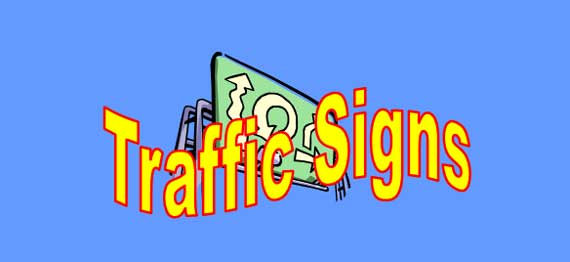 Traffic Signs Lesson for ESL Students