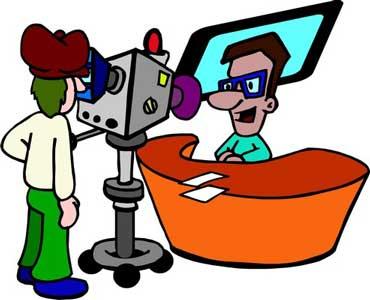 TV Station Newscast
