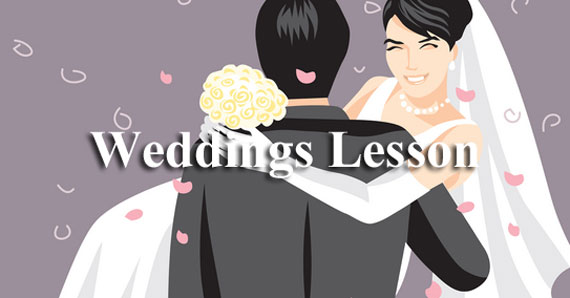 ESL Lesson Weddings