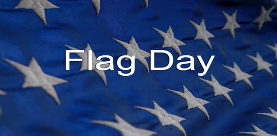 Flag Day Lesson Banner with Stars