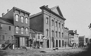 Ford's Theater Where Lincoln Was Shot